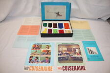 Vintage c.1973 CUISENAIRE RODS Numbers in Color Blocks Math & Language Learning