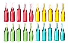 20 Assorted Bottles , Dolls House Miniature, Pub, Kitchen Wine, 1.12 Scale