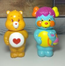Vintage Care Bear Toy Shampoo Bottles, 1984 1998 Collectable