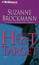 Troubleshooters: Hot Target 8 by Suzanne Brockmann (2009, CD, Abridged)