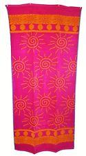 Cerise Orange Pink Sunshine Jumbo Towel Large Bath Sheet 100%Cotton High Quality