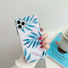 Palm Leaf Tree Plant Forest Art Case Cover for iPhone 6 7 8 Plus Xs R 11 Pro Max