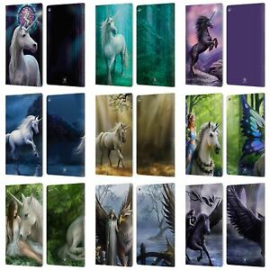 OFFICIAL ANNE STOKES MYTHICAL CREATURES LEATHER BOOK WALLET CASE FOR AMAZON FIRE