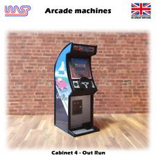 Arcade machine Out Run 1:32 Track Side Scenery Pub Bar Game Retro WASP