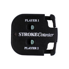 Compact Golf Count Shot/Stroke/Putt/Score Counter Scoring Keeper with Key Chain