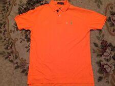 NWT Polo Ralph Lauren Classics Pony Polo Resort Orange Authentic Shirt Size L