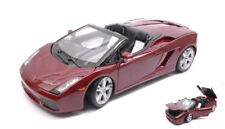 Lamborghini Gallardo Spyder 2008 Dark Red 1:18 Model 31136R MAISTO