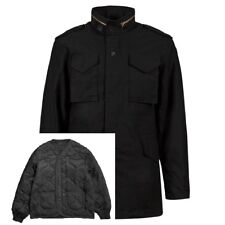 Alpha Industries M-65 Field Coat with Liner Olive, Black, Woodland Camo