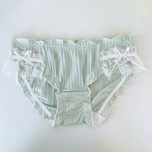 Sweet Japanese Girls Bow Panties Lace Briefs Comfort Lolita Underwear Underpants