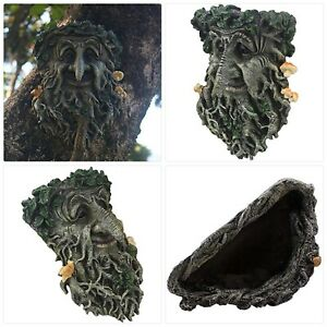 Tree Face Garden Decorations, Fun Old Man Tree Huggers Tree Sculptures Outdoor Y