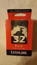 Lexmark #32 (18C0032) Black OEM Genuine Inkjet/Ink CartridgeNEW