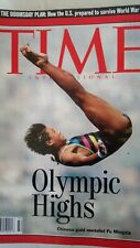 TIME magazine 1992 AUG 10 OLYMPIC HIGHS CHINESE GOLD MEDALIST FU MINGXIA