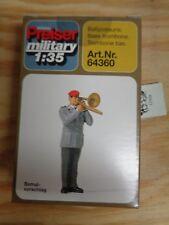1:35 Preiser 64360 Baßposaune. Militär. Unbemalt. Bausatz. OVP