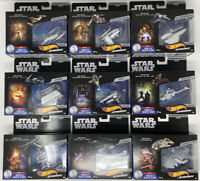 Star Wars Hot Wheels Commemorative Series Exc. Metallic Deco Starship Set of 9