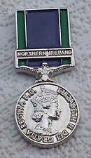 General Service Medal Lapel Badge Northern Ireland British Army UDR Rir RUC GSM