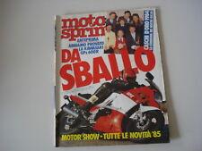 MOTOSPRINT 49/1984 MONTESA COTA 242/APRILIA 250 TUAREG/KAWASAKI GPZ 600 R