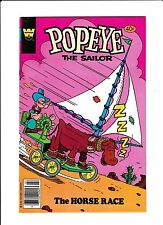 """Popeye No.155   : 1980 :   : """"The Horse Race!"""" :"""