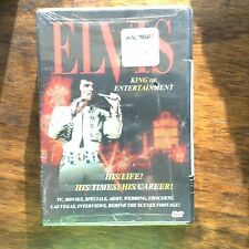 ELVIS Rare Moments with the King & Elvis King of Entertainment (DVD)  NEW