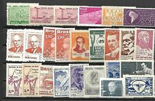 BRAZIL MLH LOT / COLLECTION OF 25 STAMPS