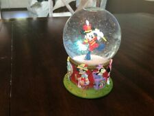 75th Anniversary Mickey Mouse Marching Band Snow Globe with Disney Characters
