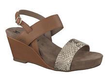 Ladies' Wedge Casual Sandal Mephisto Belanda Hazelnut EU Size 36
