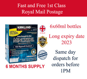 KIRKLAND SIGNATURE 5% Treatment For 6 Months, Extra strength Hire growth