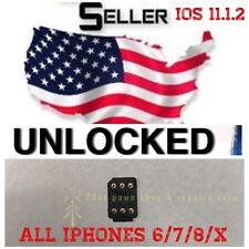 Selling Turbo sim Unlock iPhone X 8 7 6 LTE iOS 11.1.2 Tested Unlocking Sim GPP