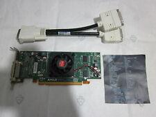 DELL ATI AMD RADEON HD5450 CEDAR PCI-EX16 512 MB DUAL VGA MONITOR low profile