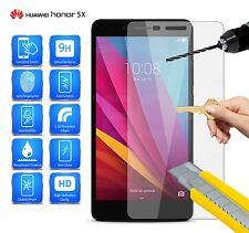 Huawei Honor 5X DUAL SIM kiw-l24 - IN VETRO TEMPERATO SCREEN PROTECTOR 9H HD 0,3 mm