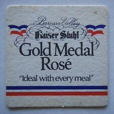 BAROSSA VALLEY KAISER STUHL GOLD MEDAL ROSE IDEAL WITH EVERY MEAL COASTER
