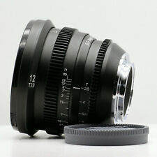 SLR Magic MicroPrime Cine 12mm T2.8 Lens for Micro Four Thirds M4/3 Mount Camera
