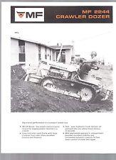 1970 MASSEY FERGUSON TRACTORS INDUSTRIAL TRACTOR 2244 CRAWLER DOZER BROCHURE