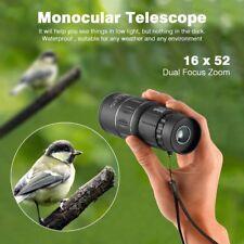 Monoculaire Longue Vue Terrestre Mini télescope Jumelle Lunette 16 x 52mm  HDME 0d07374f1801