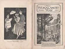 The Wonalcancet Way,October 1916 Issue