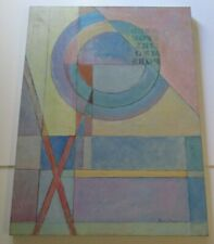 MONROE MENDELSOHN LARGE VINTAGE  CUBIST CUBISM PAINTING ABSTRACT EXPRESSIONISM