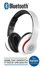 Auriculares Inalámbricos Bluetooth impulso Volkano Fm Radio, SD y micrófono Blanco