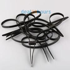 10X Restraint Zip Tie Disposable PlasticDouble Cuff Restraint Survival
