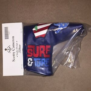 Scotty Cameron 2021 US Open Torrey Pines Surf & Turf Putter Headcover