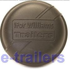 IFOR WILLIAMS 75mm BLACK GREASE DUST CAP 1992 - 1996 GENUINE PART - P1250