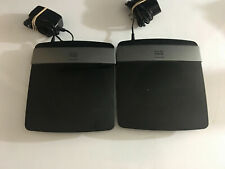 LOT of 2  Linksys Cisco  E2500 300 Mbps 4-Port 10/100 Wireless N Router