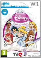 Videojuego Wii - Princesas Disney - Cuentos Encantados - uDraw