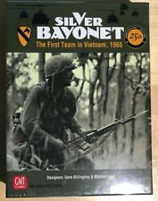 Silver Bayonet - GMT Board Game - 25th Anniversary Edition, NEW in Shrink