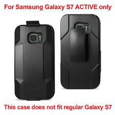 Samsung Galaxy S7 ACTIVE Heavy Duty Drop Proof Holster Combo Case with Belt Clip