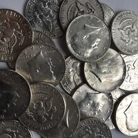 90% Silver Kennedy Half Dollars 1964 Kennedy Halves $1 Face Value