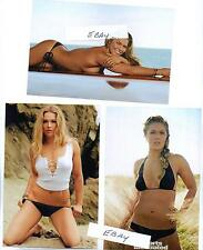 4 X 6 COLOR WRESTLING PHOTO~LOT of 3~SEXY UFC CHAMP ~RONDA ROUSEY~