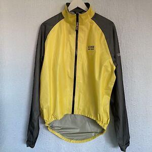 Gore Bike Gear Goretex Unlined Jacket Men's size Large VGUC