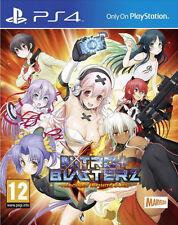Sony PlayStation ps4 4 juego * Nitroplus blasterz unmensaje Infinite Duel Nitro +