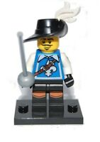 Real Genuine Lego 8804 Series 4 Minifigure no. 3 Musketeer