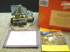 Lilliput Lane Haberdashery The Victorian Shops Collection 1997 Nib & Deeds L2053