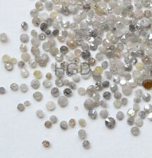 100% NATURAL Loose Round Single cut Diamonds Scrap Breakouts White Real Polished